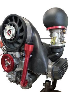 VW Käfer Luftfilterglocke Typ4 ok-products schwarz rot