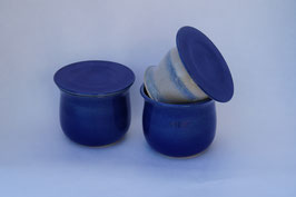 Bergische Butterdose - Blau