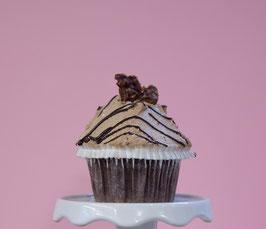 Nougat-Orange Cupcake - VEGAN!