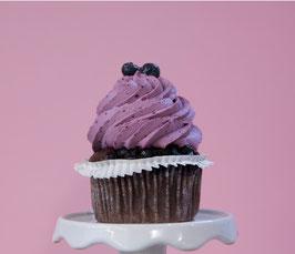 Heidelbeer Cupcake
