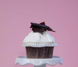 Kokos-Stracciatella Cupcake - LACTOSEFREI & VEGAN!