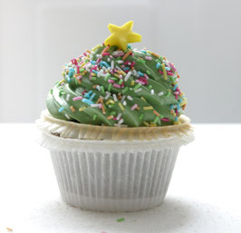 Tannenbaum-Marshmallow-Cupcake