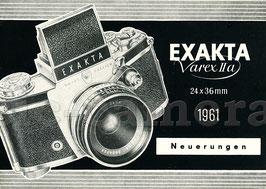 EXAKTA Varex IIa 1961, Neuerungen