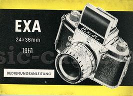 EXA I 1961, Anleitung