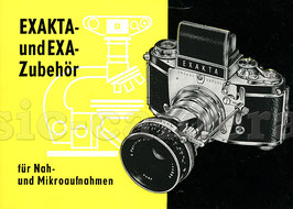 EXAKTA- und EXA-Zubehör, Anleitung