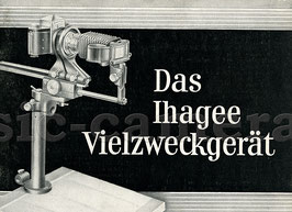 Das Ihagee Vielzweckgerät, Anleitung