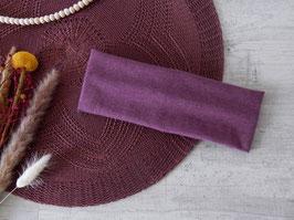 Stirnband lila meliert (einfach)