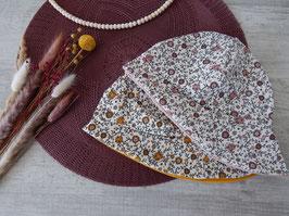 Sonnenhut Vintageblumenfeld wahlweise ocker oder rosa