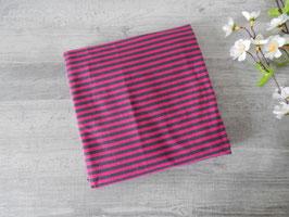 Reststück Streifen pink anthrait