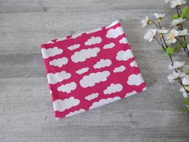 Reststück Jersey Wolken pink