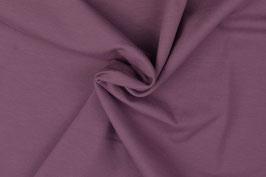 Unijersey  mauve / aubergine 0,5m x 1,45m organic cotton