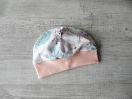 Bündchenmütze Blütentraum