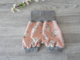 Shorts Schmetterlinge apricot
