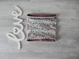 Schlupfschal Vintage Blumenfeld rosa