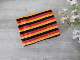 Reststück Streifen schwarz-rot-gelb