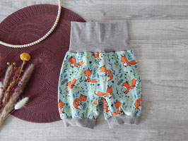 Shorts Füchse mint