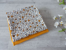 Stoffpaket Vintage Blumenfeld / ocker