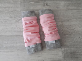 Beinstulpen uni rosa