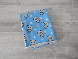Reststück Pandabären blau