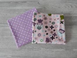 Stoffpaket Feen / Dots lila