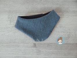Halstuch knit knit bluenavy