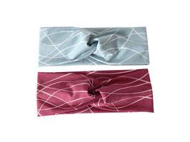 Stirnband mystripes Knoten