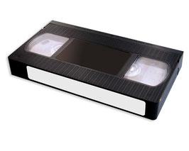 (S) VHS videoband naar DVD