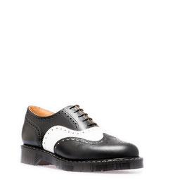 English Brogue Shoe Black & White