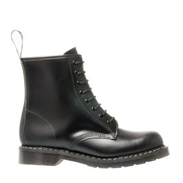 Derby Boot Black Hi-Shine