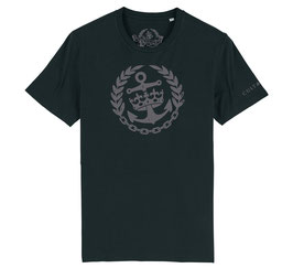 Cult & Glory Shirt - Crown Anchor Midnight Black