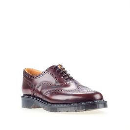 English Brogue Shoe Burgundy Rub-off