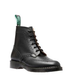 Brogue Boot Black Hi-Shine