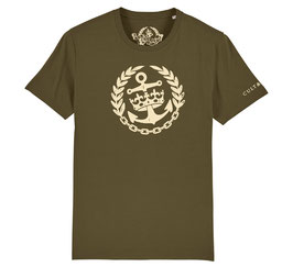 Cult & Glory Shirt - Crown Anchor Jeep Green