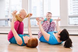 Fitness und Pilates mit Baby