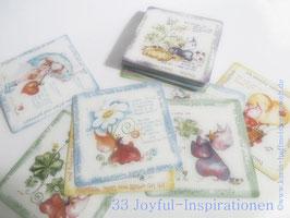 >>NEU << 33 Joyful Inspirationen im 7 X 7 cm Format♥