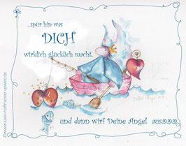 JOYFUL-ANGEL Klappgrußkarte/  Angel♥