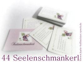 >>NEU<< 44 Seelenschmankerl im Kärtchenformat♥