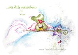 JOYFUL-ANGEL Klappgrußkarte/  verzaubern♥