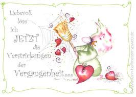 JOYFUL-ANGEL Klappgrußkarte/ Vergangenheit♥