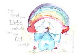 JOYFUL-ANGEL Klappgrußkarte/  Trost♥