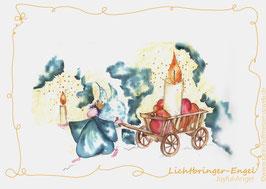 JOYFUL-ANGEL Klappgrußkarte/ Lichtbringer♥