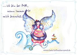 JOYFUL-ANGEL Klappgrußkarte/Schutzengel♥