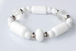 Flex Big White -  Böhmische Perlen