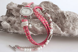 "3-fach Wickeluhr ""Pink Pearl"""