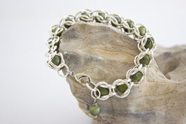 Captured Chain Maille Armband