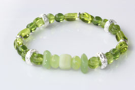 Flex Oliv - Böhmische Perlen