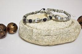 ***SALE***  Shamballa-Style Armband Silver