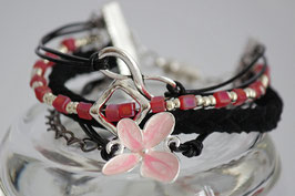 ***SALE*** Arm Candy Flower-Infinity schwarz
