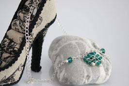 ***SALE*** Damen Halskette Emerald