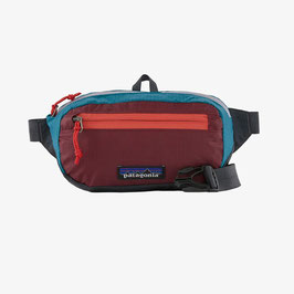 Patagonia Ultralight Black Hole Mini Hip Pack 49447-PWRE(Patchwork: Roamer Red)